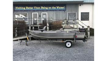 14' Vee Bottom Boat