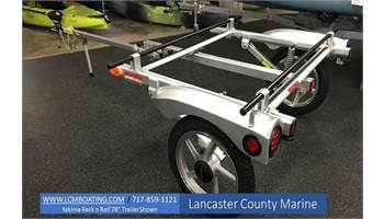 "Rack and Roll 78"" Kayak Trailer"
