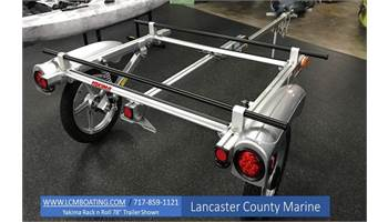 "Rack and Roll 66"" Kayak Trailer"