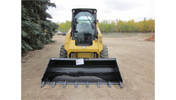 "2018 HLA 78"" Low Profile Skidsteer Bucket with Digging Teeth"