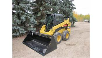 "2018 HLA 84"" High Volume Skidsteer Snow Bucket"