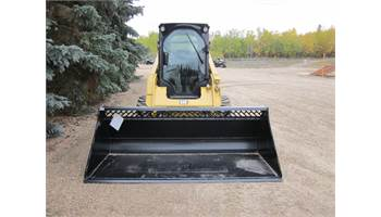 "2018 HLA Attachments 96"" High Volume Snow Bucket"