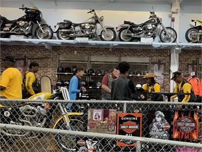 1st Annual Charity Ride - Buffalo Soldiers MC
