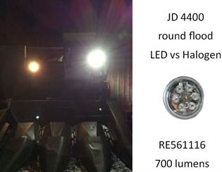 JD 4400 led vs halogen