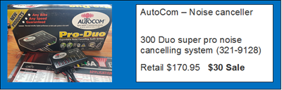 Autocom - noise cancel - Post