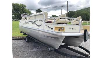 2006 Express 22 Fish Tritoon