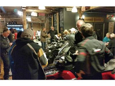 Debut of the 2015 Spyder F3 & RT-S Special Series at the Old Flame Brewing Co., Port Perry,Ontario Oct. 2014