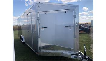 2019 2019 LIGHTNING 8X24 ENCL TRAILER  - SILVER/CHARCOAL