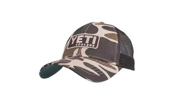 Custom Camo Hat with Patch