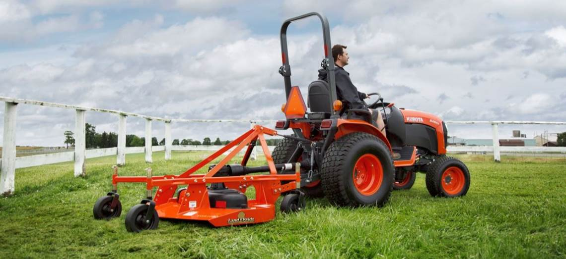 Land Pride Mower Attachment