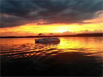 Sunsets on Greers Ferry Lake