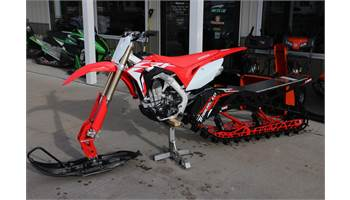 2018 HONDA CRF 450R ELECTRIC START W/ '18 TIMBERSLED ARO 137LE