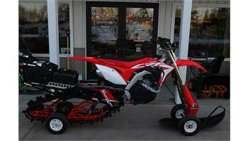 2018 HONDA CRF 450R ELECTRIC START W/ '18 TIMBERSLED ARO 120 LE