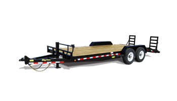 "2019 14ET-20BK-KR 83"" x 20' Heavy Duty Tandem Axle Equipment Trailer"