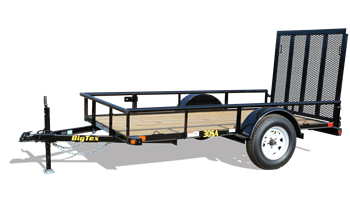 "2018 30SA-08BK4RG 60"" x 08' Single Axle Utility Trailer"