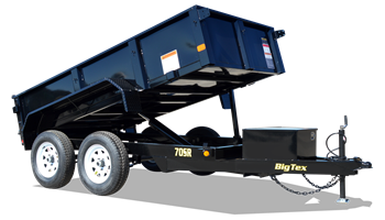 "2019 70SR-10-5WDD  60"" x 10' Tandem Axle Single Ram Dump"