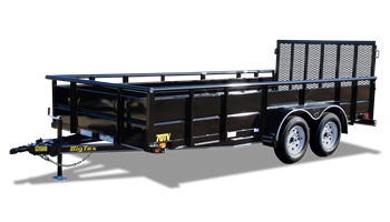 "2019 70TV-16BK  83"" x 16' Tandem Axle Vanguard"