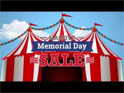 1st Annual Memorial Day Tent Sale (2019)