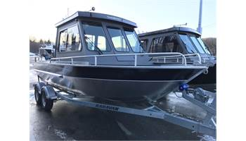 20' Dual Console w/Offshore Bracket & Extended Bottom