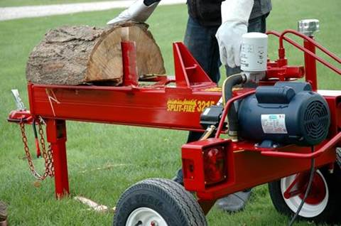 3215 Electric Powered Two-Way Log Splitter