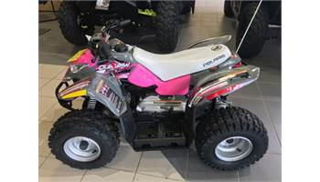 2019 Outlaw® 50 - Avalanche Gray/Pink Power