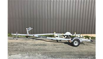 1824RG-96 16'-18' 2400 lb Single Axle Roller Boat Trailer