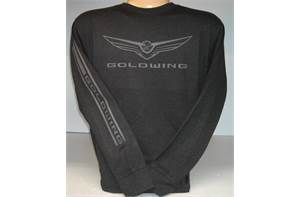 Gold Wing Long Sleeve Tee with 2018 Logo