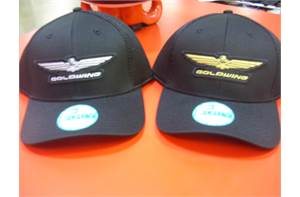 Gold Wing Mesh Hat