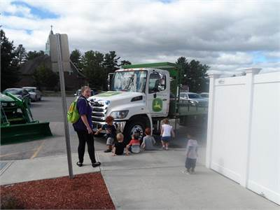 Touch A Truck at The Learning Experience in Merrimack, NH