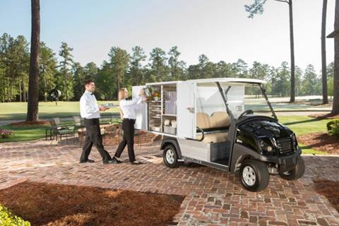 Club Car Carryall Food Service / Catering Vehicle