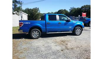2011 FORD F150 SUPERCREW CAB XLT 4X4 ECOBOOST!