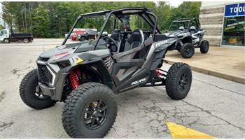 2019 RZR Turbo S DX Titanium Metallic