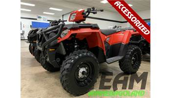 2019 Sportsman 450 H.O. - Indy Red