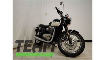 2018 Bonneville T120 - Green/White