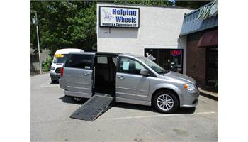 2016 Grand Caravan SXT with AMS Power Fold-Out Ramp Conversion