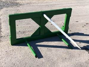 Hay Equipment Spear Quick Attach with Bolt On