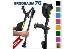 Ergobaum 7G Adult Forearm Crutches