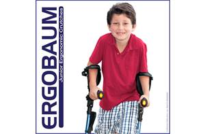 Ergobaum Kids & Junior Forearm Crutches