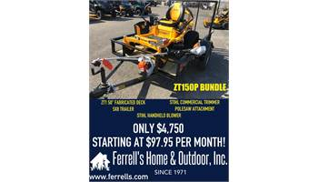 2019 ZT150P Bundle
