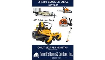 2019 ZT260 Bundle Deal