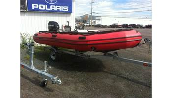 2013 2013 Mercury 430HD 14' Hypalon boat with 2013 30Hp electric start Mercury outboard