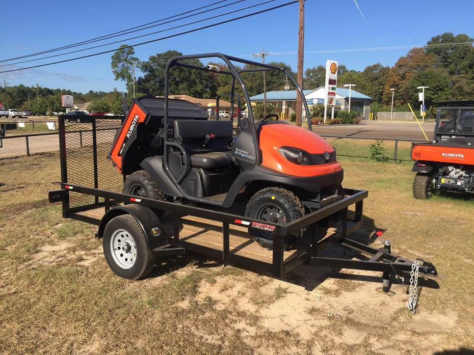 RTV 400 Orange, with 6×10 Trailer