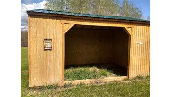 UTILITY SHED WITH ANIMAL SHELTER PACKAGE 10X16