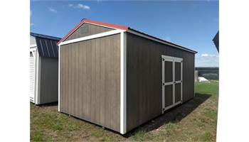 UTILITY SHED WITH WILDERNESS PACKAGE 10X20