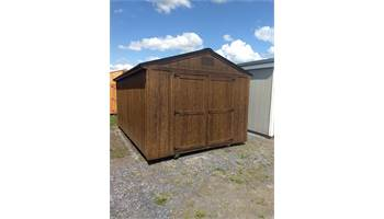 UTILITY SHED 10X16 WITH WILDERNESS PACKAGE