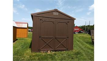 2019 UTILITY SHED 10X16 8FT WALLS & DOUBLE DOOR 7X7