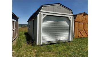 2019 12X24 LOFTED BARN WITH GARAGE PACKAGE