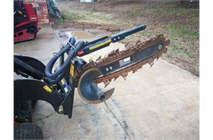 Used High Speed Trencher (22474)