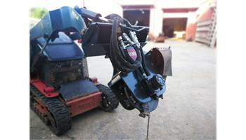 Used Stump Grinder Attachment