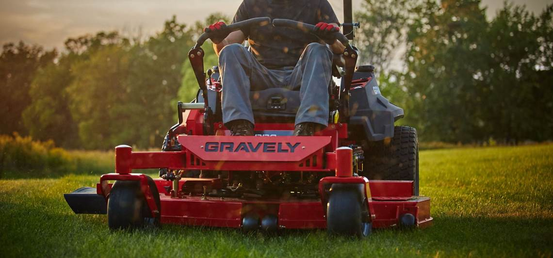 Gravely Zero-turn Mower